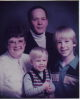 Diane (Lohse) and Donald Hedstron family 1984