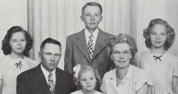 Hugh Block and family
